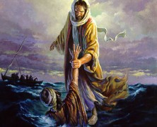 He is Lord in the Storm and the storms obey Him..!